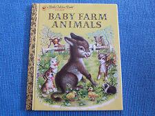 LITTLE GOLDEN BOOK - BABY FARM ANIMALS