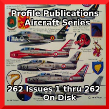 Profile Publications Aircraft Series - Massive 262 Issues 1 thru 262 On Disk