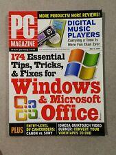 Pc Magazine May 4, 2004 Windows & Microsoft Office Guide - Digital Music Players