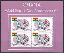 Ghana -  Fußball-WM, England Block 22 postfrisch 1966 Mi.Nr. 273