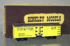 BINKLEY KIT BUILT HOn3 NARROW GAUGE DSP&PRR DENVER SOUTH PARK REEFER BOX CAR 603