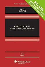Basic Tort Law : Cases, Statutes, and Problems by Nicholas Kahn-Fogel, David...