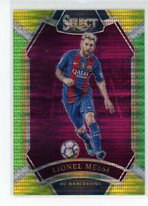 Lionel Messi 2016-17 Panini Select Multi Color Field Level FC Barcelona SP RARE