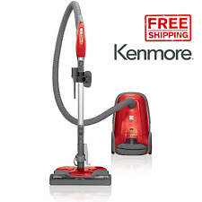 New Kenmore 81414 400 Series Bagged Canister Vacuum Cleaner w/ HEPA Filter Red