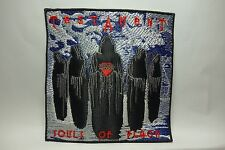 TESTAMENT SOULS OF BLACK    EMBROIDERED  PATCH