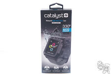 CATALYST Waterproof Case For Apple Watch 42mm Series 2 and Series 3 (Black/Gray)