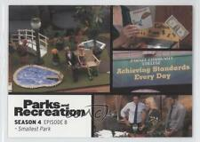 2013 Press Pass Parks and Recreation Seasons 1-4 #54 Smallest Park Card 2a1