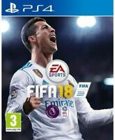 FIFA 18 PlayStation 4 (PS4) Mint Same Day Dispatch 1st Class Super Fast Delivery