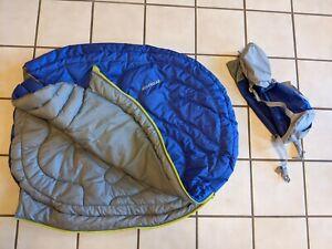 Ruffwear Highlands Dog Sleeping Bag and Pad