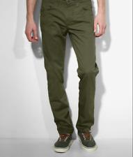 Levis 511 Slim Fit Line 8 Pants Men's Forest Green 0093