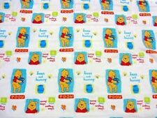 """Disney Pooh """"bees and hunny"""" Cotton fabric"""