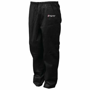 FROGG TOGGS Women's Classic Pro Action Waterproof Breathable Rain Pant M Black