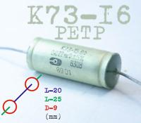 4700pF 630V PETP Mylar Capacitors K73-15 NOS .Lot of 30