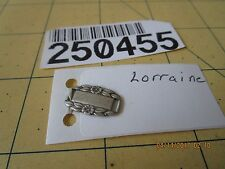 charm Link 250455 lorraine Sterling Silver Wwii Forget-Me-Not Bracelet