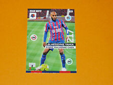 YAHIA STADE MALHERBE CAEN FOOTBALL ADRENALYN CARD PANINI 2015-2016