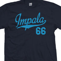 Impala 66 Script Tail Shirt - 1966 Lowrider Classic Car - All Sizes & Colors
