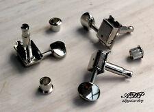 Machine Heads Vintage Gotoh SD91-05M Kluson Style Tele Strat 6Left Tuners Nickel