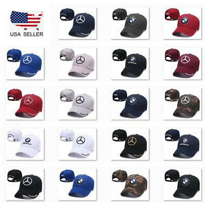 FOX Race Mercedes-Benz Embroidered Sun Hat Unisex Adjustable Sport Baseball Cap