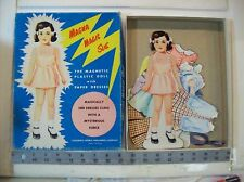 "Vintage 1954 ""Magna Magic Sue"" paper dolls"
