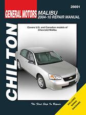 Chilton 28691 Service/ Repair Manual Chevrolet Malibu 2004-2010