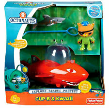 NEW Fisher-Price Octonauts Kwazii Gup B Launch & Rescue Vehicle Factory Sealed