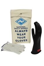 NATIONAL SAFETY APPAREL CLASS 0 GLOVE KIT KITGC0. BLK, RED, OR YELLOW. IN STOCK
