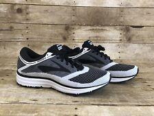 Brooks Revel Running Shoe Mens Sneaker Black Gray 1102601D155 Brand New Size 12