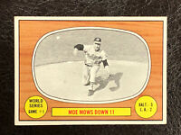 1967 Topps Card #151 World Series Game 1 Moe Mows Down 11 NM Centered