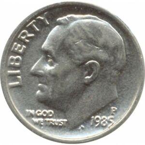 AMERIQUE ( U.S.A ) ONE DIME (10 cents) 1985 P ROOSEVELT DIME TTB+
