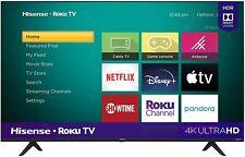 Free Ship Hisense 50-Inch Class R6090G Roku 4K UHD Smart TV with Alexa Compatibi