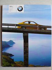 Prospekt BMW M3, M3 Cabrio, M5, M roadster, M coupe, 2.2001, 104 Seiten