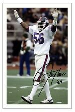 Lawrence Taylor New York Giants firmato Photo Autograph stampa NFL Calcio