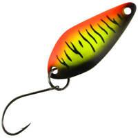 Trout Bait Blinker Micro Atom 44 Belgian Stripes UV