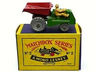 Matchbox Lesney No.2b Muir Hill Site Dumper In Type B1 Series Box (METAL WHEELS)