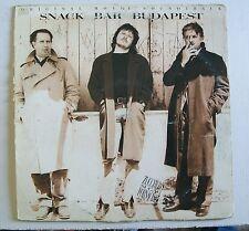 "ZUCCHERO SUGAR FORNACIARI Snack Bar Budapest Lp 12"" 1988 VG/VG"