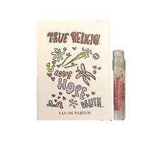 True Religion Love Hope Denim Women Sample 0.05 oz 1.5 ml *Eau De Parfum* Spray