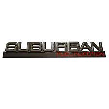 Rear Door Hatch Emblem Badge For Chevrolet Chevy Suburban Fuel Injection