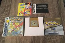Pokemon: Gold Version (Game Boy Color) CIB w/ Shrink wrap Complete In Box