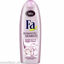 (8,76€/L) 250ml Fa Romantic Moments Cashmere & Weiße Rose Duschcreme