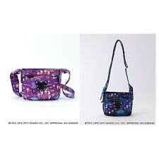 NEW Hello kitty x ANNA SUI Shoulder bag Black / Purple Two colors from Japan