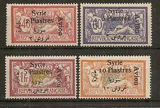 SYRIA 1924 AIR SURCH SG171/4 MNH