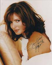 JACLYN SMITH SIGNED 8x10 PHOTO - CHARLIES ANGELS - UACC & AFTAL RD AUTOGRAPH