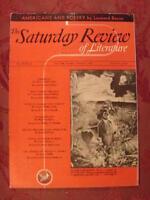Saturday Review October 7 1939 LEONARD BACON IRWIN EDMAN +++