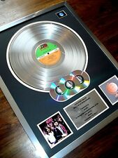AC/DC HIGHWAY TO HELL LP MULTI PLATINUM DISC RECORD AWARD ALBUM