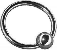 piercing oreille Arcade  tragus anneau  noir 12 mm