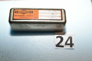 COLLINS radio MECHANICAL FILTER TYPE  F 500 B 60 P/N 526-9009-009