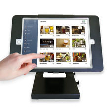 "Tablet Desktop Anti-Theft POS Stand Holder, Compatible with 10.2"" iPad"