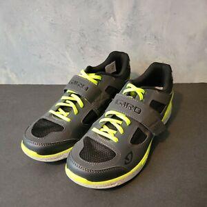 NWOB Women Giro Whynd Cycling Black Neon Yellow Shoes Size EU 42 US 10 🌼🌼