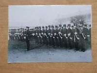 MILITARY PHOTOGRAPH - ROYAL HORSE ARTILLERY - ON PARADE ALDERSHOT c1913 - m910