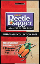 Bonide Japanese Beetle Bagger 6 Disposable Replacement Bags for Beetle Trap